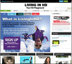 Panasonic Living in HD