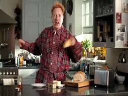 Johnny Rotten in Country Life Butter spot