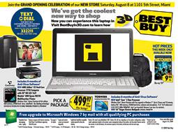 Best Buy 3-D ad
