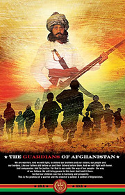 Afghan Army poster