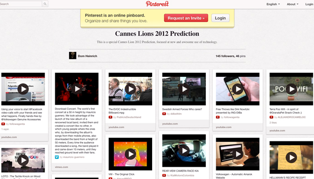 Cannes Lions 2012 Predictions