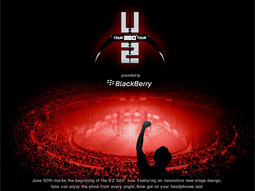 U2-Blackberry ad