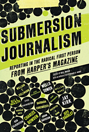 'Submersion Journalism'