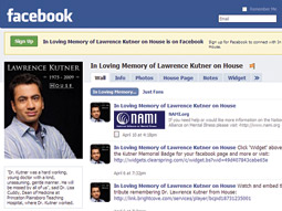 Facebook memorial for Dr. Lawrence Kutner