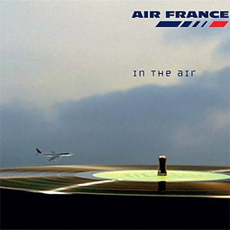 Air France's cover for 'In the Air'