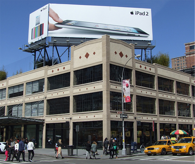 NYC Apple retail store in Meatpacking district