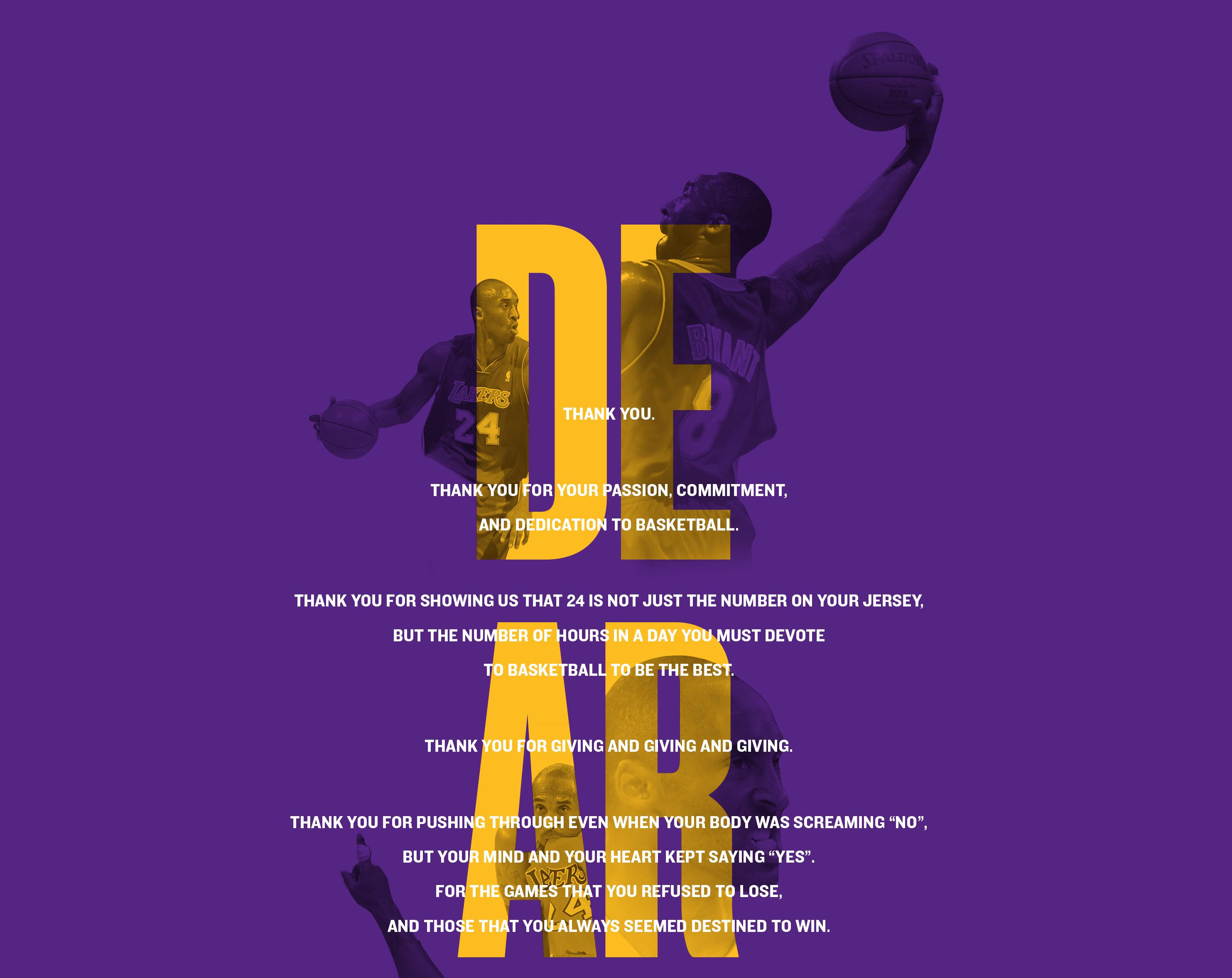 82f5a2ceadaf Hail Kobe  Rousing Tributes and Rad Ads Capture Retiring NBA Star s ...