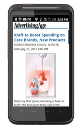 Download the Ad Age                                                                  Android app