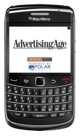 Download the Ad Age                                                                  Blackberry app