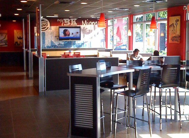 Burger King remodel