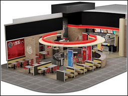 Burger King interior