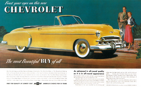 Priced Right Auto Sales >> 100 Years of Chevrolet Advertising: A Timeline | Special: Chevy 100 - Ad Age
