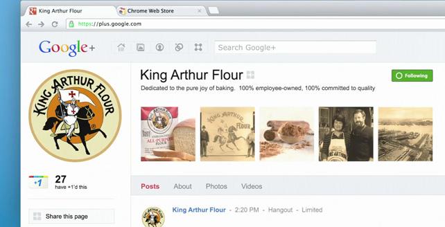 Google King Arthur Flour