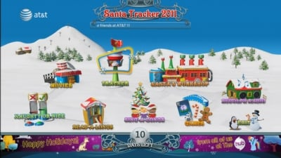 AT&T U-verse SANTA TRACKER Borrows Page From NORAD