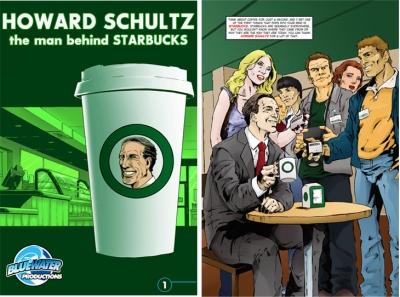 Howard Schultz comic starbucks
