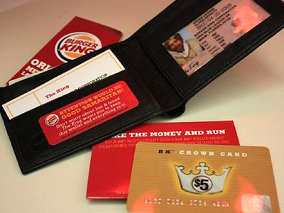 Burger King wallets
