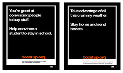Boostup.org posters