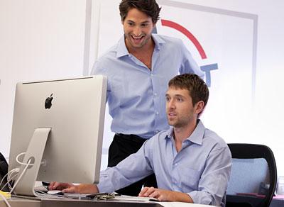 Thrillist founders Ben Lerer and Adam Rich
