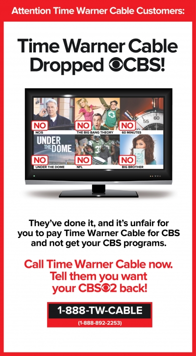 Twctime Warner Cable 888 Twcable: CBS Ratings Steady So Far in Blackout but 7Under the Dome7 Looms rh:adage.com,Design