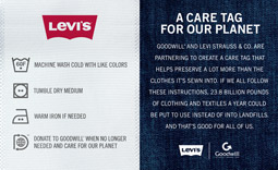 Levi's, Goodwill Launch Clothing Recycling Push | AdAge