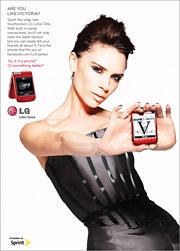 LG Victoria Beckham ad