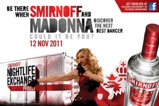 Campaña junto a Smirnoff : Nightlife Exchange Project 2011 08-17-2011-NEP_Madonna_PRESS-RELEASE_mech
