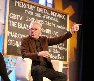 Glenn Beck speaks at Ad Age's Media Evolved Conference Nov. 15