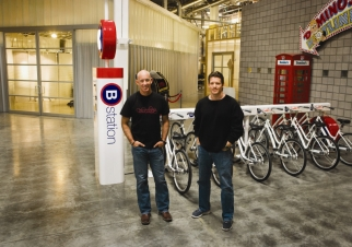 CP+B product innovators John Winsor and Neil Riddell