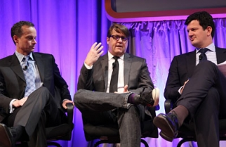 Converse Chief Marketing Officer Geoff Cottrill (middle) at Ad Age's Digital Conference.