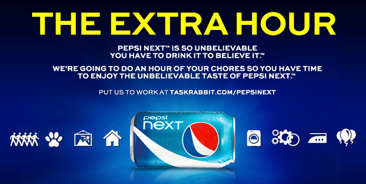 Pepsi NEXT 25th hour