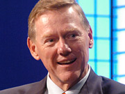 Ford President-CEO Alan Mulally