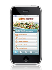 Kraft's iFood Assistant is both a paid app and contains advertising.