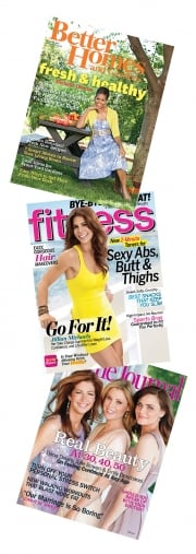 Meredith titles Better Homes and Gardens, Fitness and Ladies' Home Journal