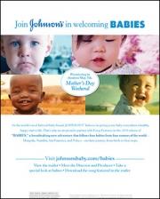 J&J Babies ad