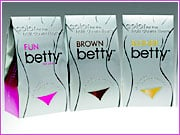 Betty Beauty's pubic-hair-dying kits are being marketed with names such as Brown Betty, Fun Betty, Blond Betty, Auburn Betty and Black Betty that designate color -- Fun Betty is hot pink. ALSO: Comment on this article in the 'Your Opinion' box below.