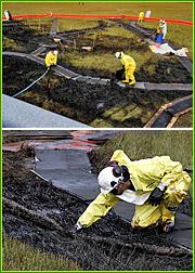 British Petroleum on Alaskan soil