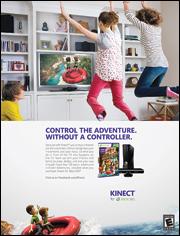 Xbox Kinect ad