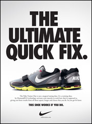 Nike Trainer One ad