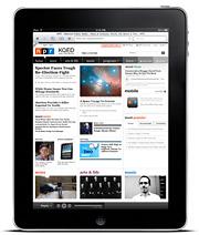 iPad NPR