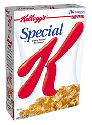 Kellogg crossed the $1 billion benchmark on ad spending during 2007, and its outlay is set to increase this year.