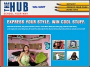 The Hub is where teens can go and register to become 'Hubsters' -- Wal-Mart's ideal of a hipster.