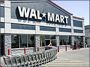 Wal-Mart is focusing ads on food, consumables and seasonal shopping occasions like Mother's Day and July 4.
