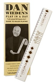 Wieden musical ruler