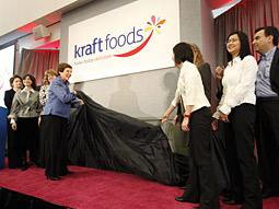 卡夫(Kraft)食品启用新Logo及Slogan