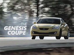 Genesis Coupe Super Bowl ad