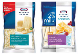 KRAFT GOES NATURAL: Kraft Natural Cheese was repackaged in mid 2009 with heightened visibility of the word 'natural' in response to consumers' desire for less-processed, but still convenient, foods.