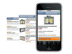 Amazon app on the iPhone
