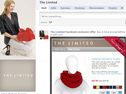 Resource Interactive's Off the Wall product allows retailers to sell directly from their Facebook walls.