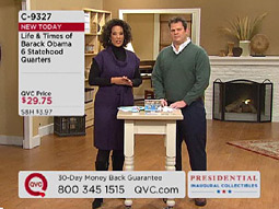 Obama merch on QVC