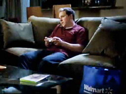 GUEST STAR: In a 'Modern Warfare 2' spot, Walmart assumes a cameo role.
